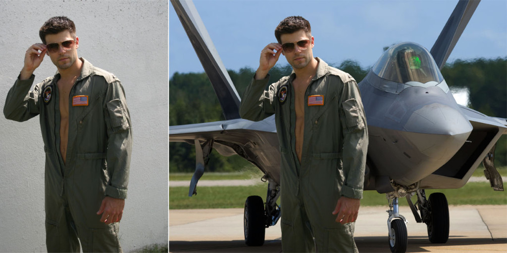 male aviator