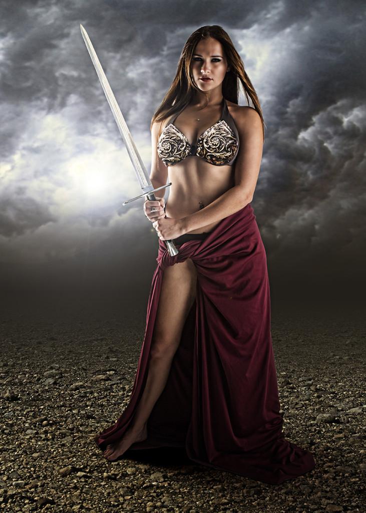 Mandy Warrior edit