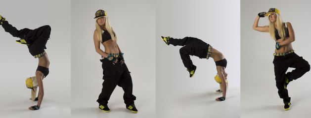 Hip Hop Dance Group Poses Melodie hip hop