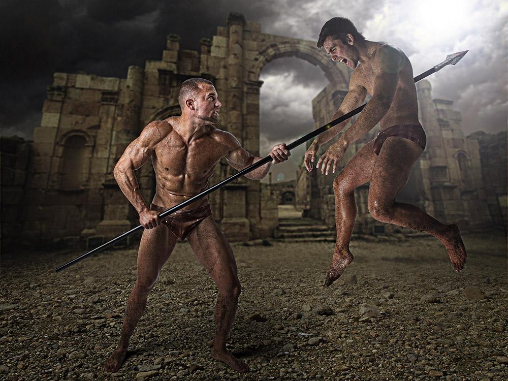 Warrior duo